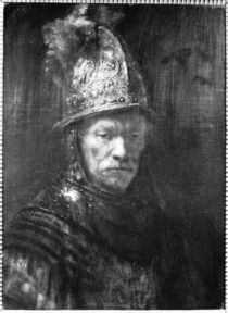Portrait of a Man with a Golden Helmet von Rembrandt Harmenszoon van Rijn