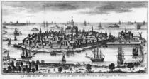View of St. Malo by Italian School
