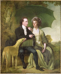 The Rev. and Mrs Thomas Gisborne by Joseph Wright of Derby