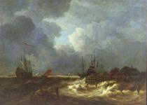 The Tempest by Jacob Isaaksz. or Isaacksz. van Ruisdael