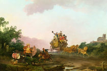 Revellers on a Coach, c.1785-90 by Philip James de Loutherbourg