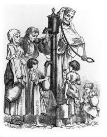 Death Dispensary, 1830 von English School