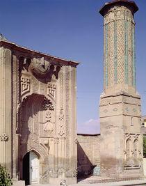 Entrance portal and minaret by Islamic School