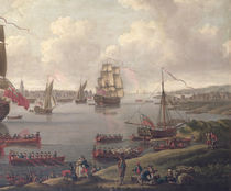 View of the Thames, 1761 by English School