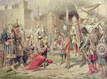 Tsar Ivan IV Vasilyevich the Terrible conquering Kazan von Aleksei Danilovich Kivshenko