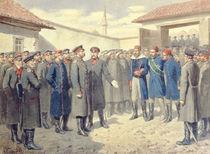 The Fall of Plevna, The Wounded Osman-Pashah before Alexander II by Aleksei Danilovich Kivshenko