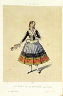Maddalena, from 'Rigoletto' by Giuseppe Verdi 1885 von French School