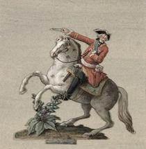 Equestrian portrait of Prince Charles-Just de Beauveau-Craon von Pierre Antoine Lesueur