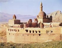 View of the Ishak Pasa Palace by Ottoman School