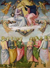 The Coronation of the Virgin by Pietro Perugino