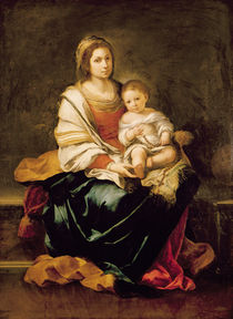 The Virgin of the Rosary von Bartolome Esteban Murillo