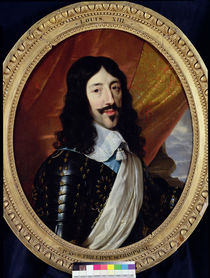 Portrait of Louis XIII after 1610 by Philippe de Champaigne