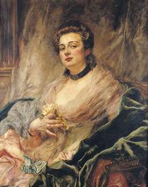 Portrait of the Artist's Wife von Eduardo-Leon Garrido