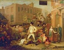 Scene in a London Street, 1770 by John Collet