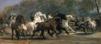 Study for the Horsemarket, 1852-54 von Rosa Bonheur