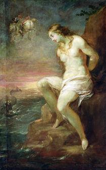 Perseus Rescuing Andromeda von Michael Leopold Willmann