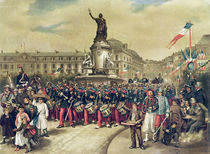 Quatorze Juillet, 1881 by Albert Bligny