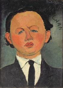 Oscar Miestchaninoff 1917 by Amedeo Modigliani