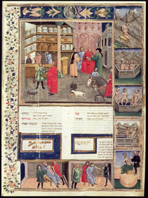 Page from the 'Canon of Medicine' by Avicenna von Islamic School