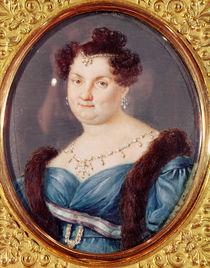 Marie-Christine de Bourbon-Sicile Queen of Spain by Spanish School