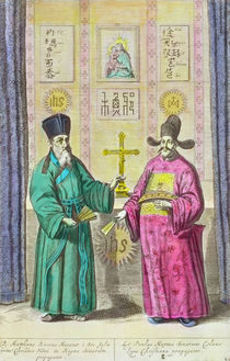 Matteo Ricci and another Christian missionary to China von Dutch School