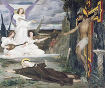 The Vision, Legend of the 14th Century by Luc-Oliver Merson
