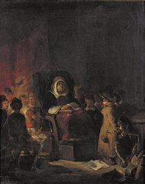 The Schoolmistress by Nicolas Toussaint Charlet