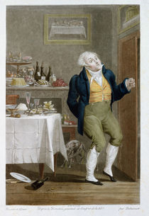 The End of the Gastronomes von Philibert Louis Debucourt