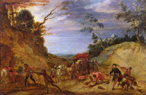 Travellers Attacked by Bandits von Peeter Snayers
