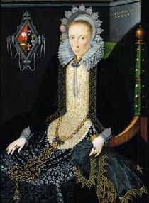 Portrait of Adriana van Nesse by Salomon Mesdach