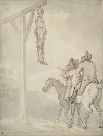 The Gibbet von Thomas Rowlandson
