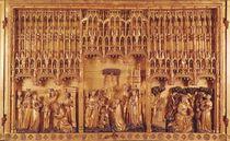 Altarpiece of Saints and Martyrs von Jacques de Baerze or Baers