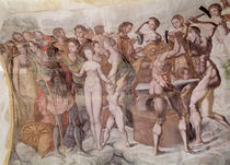 Tour de la Ligue. Members of the Medici Court as the Gods of Olympus by French School