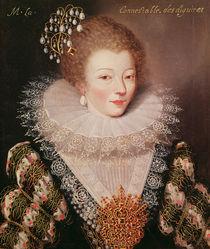 Portrait of Marie Vignon von French School