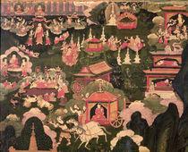 Parinirvana and the Death of Buddha von Tibetan School