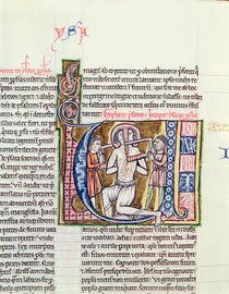 Ms 21 fol.98v The Martyrdom of Isaiah by French School