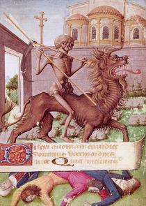 Ms 89 fol.88 The Triumph of Death von French School