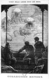 The Nautilus Passengers, illustration from '20 von Alphonse Marie de Neuville