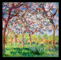 Printemps a Giverny, 1903 von Claude Monet
