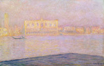The Ducal Palace from San Giorgio von Claude Monet
