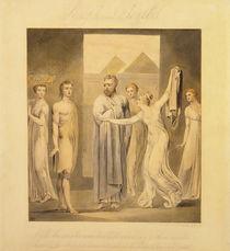 Joseph and Potiphar's Wife von William Blake