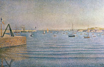 The Harbour at Portrieux, 1888 von Paul Signac
