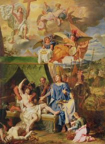 St. Louis Curing the Sufferers of Scrofula by Louis Licherie de Beuron