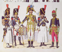 Grenadier Guards of the First Empire by Lucien Rousselot