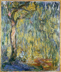 The Large Willow at Giverny von Claude Monet
