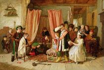 Children acting the 'Play Scene' von Charles Hunt