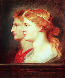 Agrippina and Germanicus, c.1614 by Peter Paul Rubens