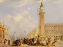 The Piazzetta, Venice by Edward Pritchett