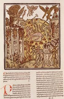 Hell, from 'La Cite de Dieu' von French School