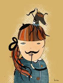 Moustache by Kristina  Sabaite